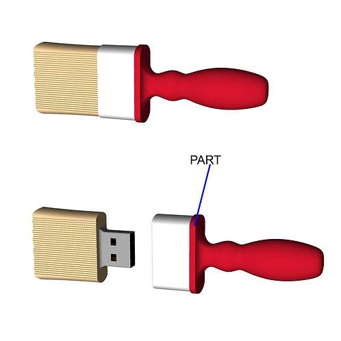 Paint Brush USB Flash Drive