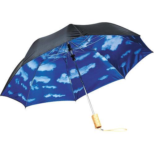 "46"" Blue Skies Auto Open Folding Umbrella"