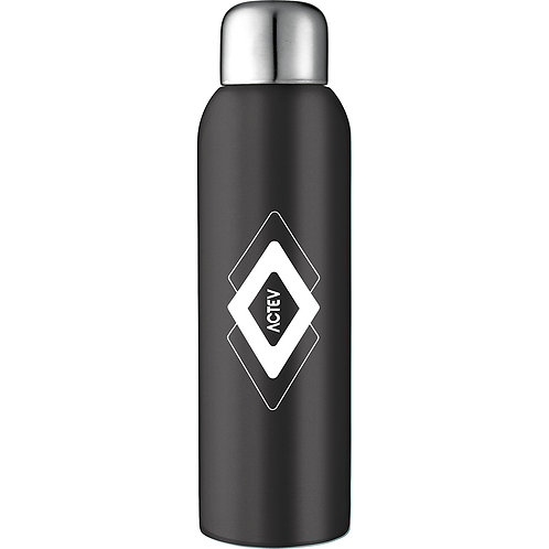 Guzzle Stainless Sports Bottle - Black