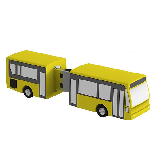 Bus PVC Flash Drive
