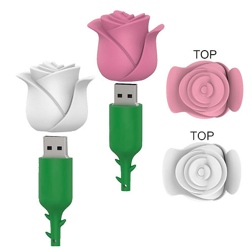 Rose USB Flash Drive