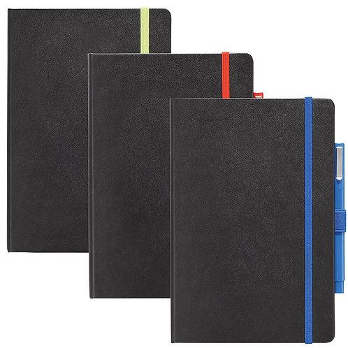 Nova Colour Pop Bound JournalBook - Lime Green