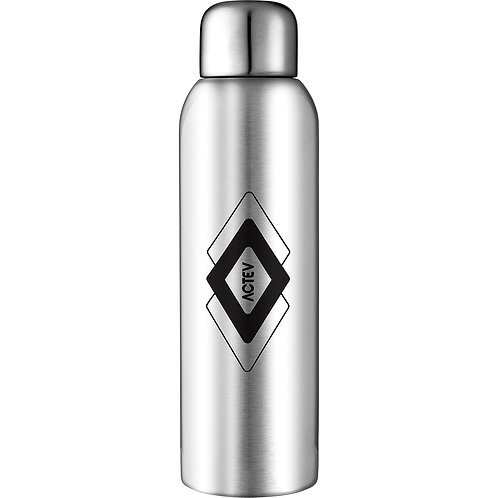 Guzzle Stainless Sports Bottle - Silver