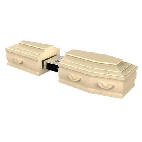 Coffin PVC Flash Drive