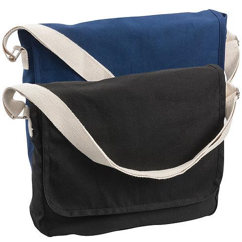 Canvas Woven Shoulder Bag