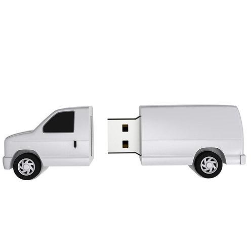 Van PVC Flash Drive