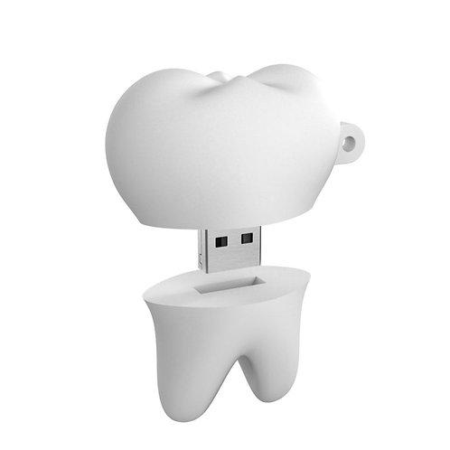Tooth PVC Flash Drive