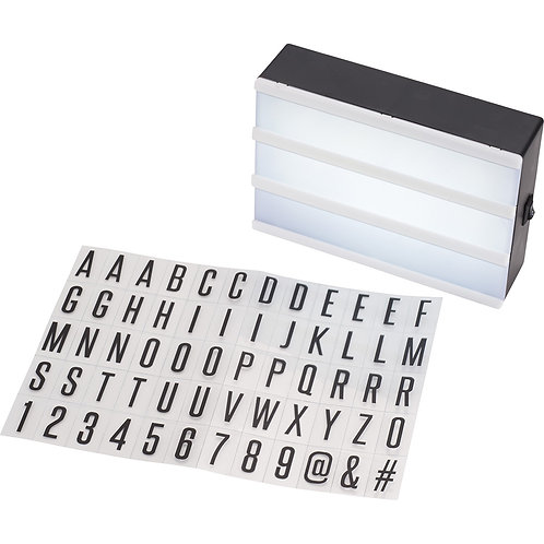Cinema Light Box - Black