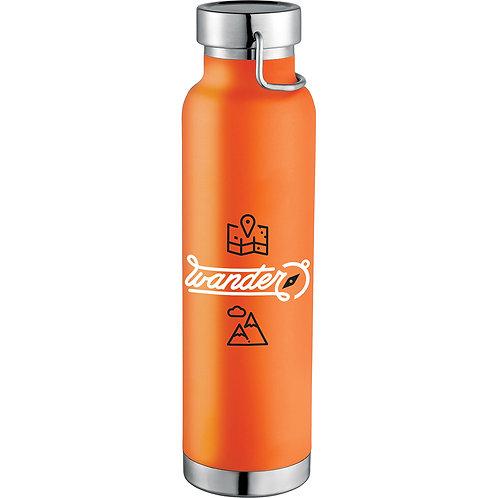Thor Copper Vacuum Insulated Bottle - Orange