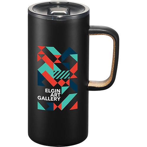Valhalla Copper Vacuum Mug - Black