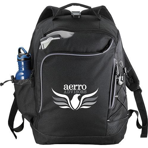 Summit TSA 15 inch Computer Backpack - Black