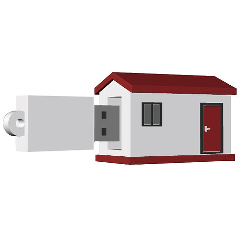 House #2 USB Flash Drive