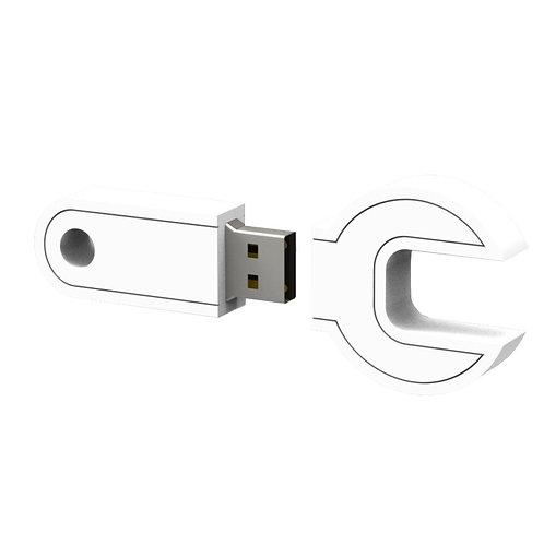 Spanner PVC Flash Drive