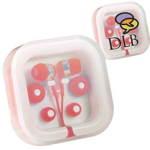 Ear Buds in Case Organiser