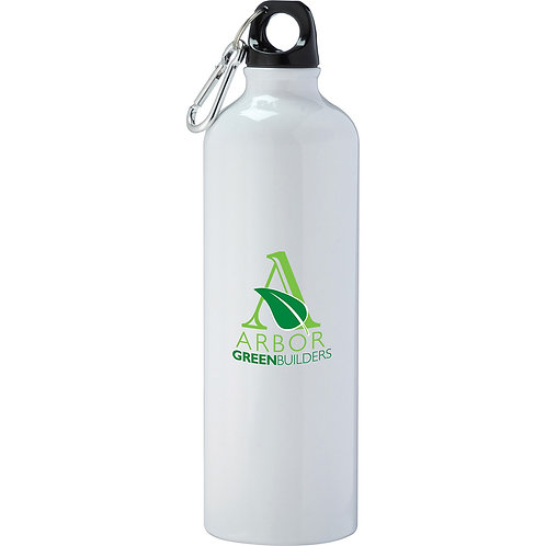 Pacific Aluminum Sports Bottle - White