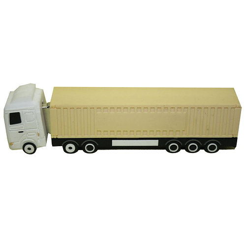 Container Truck PVC Flash Drive