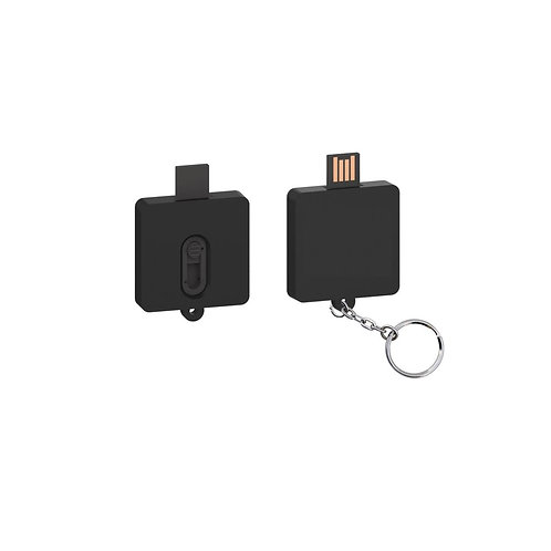 Square Slider USB Flash Drive