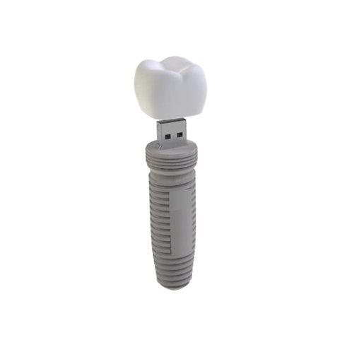 Tooth Implant PVC Flash Drive