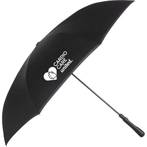 48 inch Auto Close Inversion Umbrella - Black