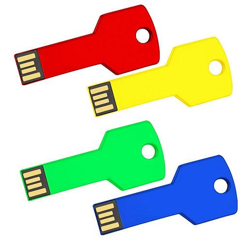 Coloured Key USB Flash Drive