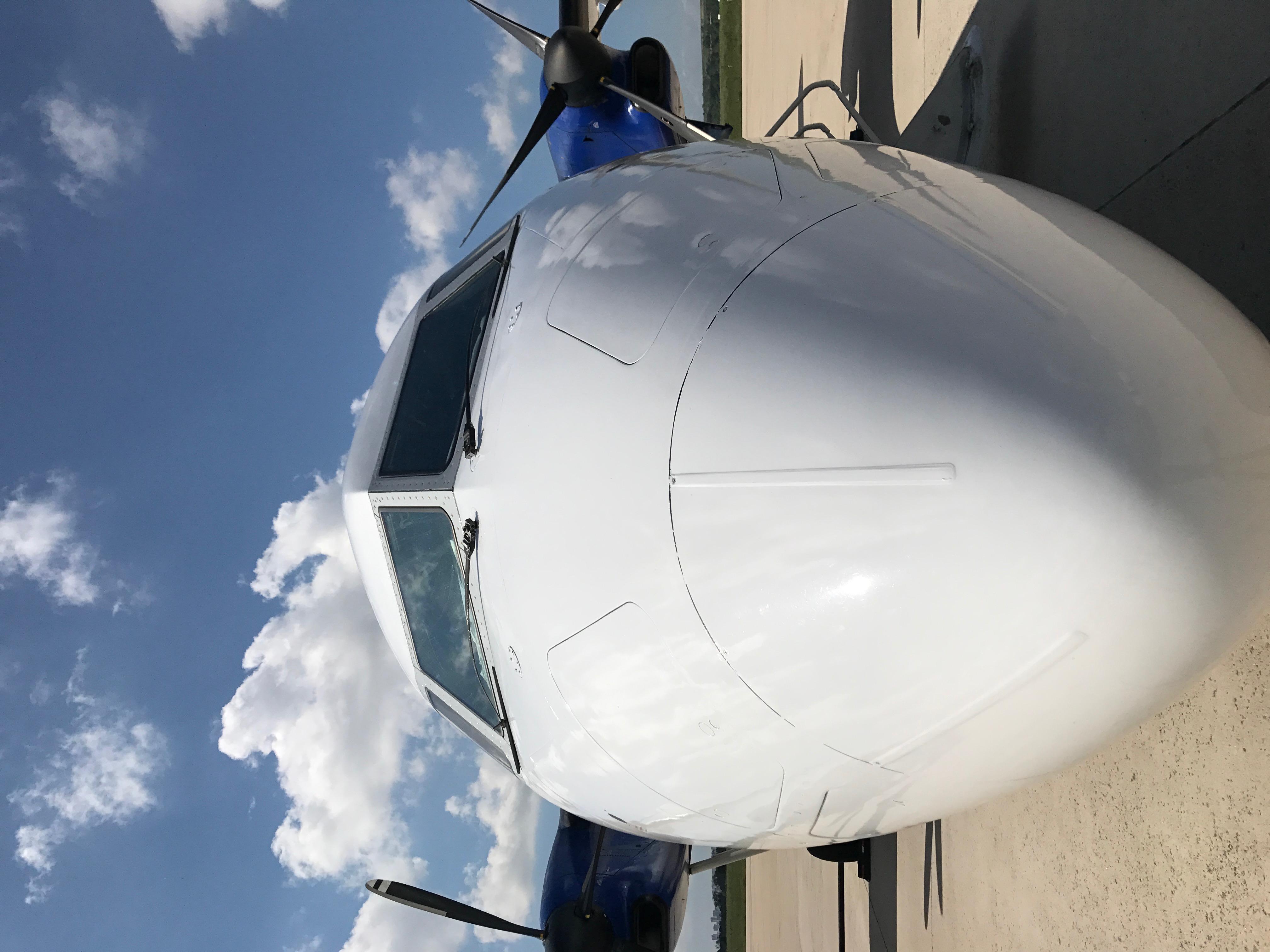 DHC-8-Q200 Jet Test Ferry