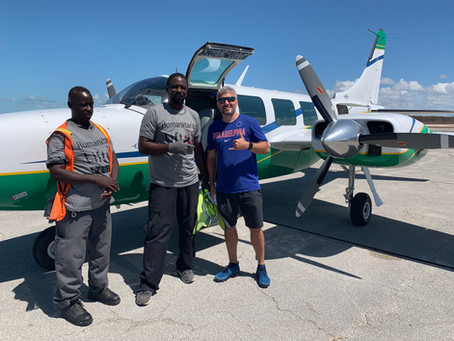 Dorian Update: 3-Weeks into HLP Airlift Efforts