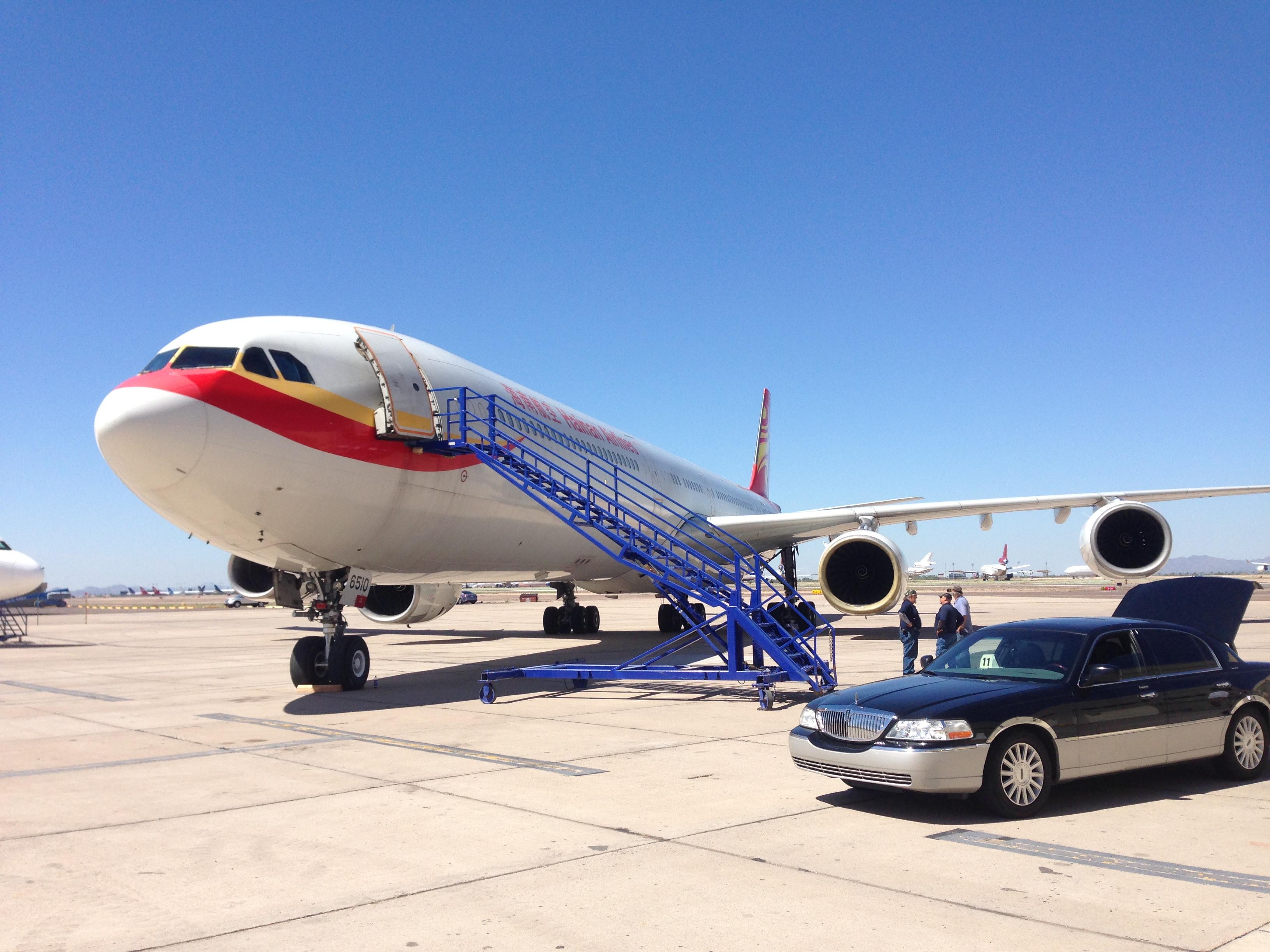 A340-600 Jet Test Ferry