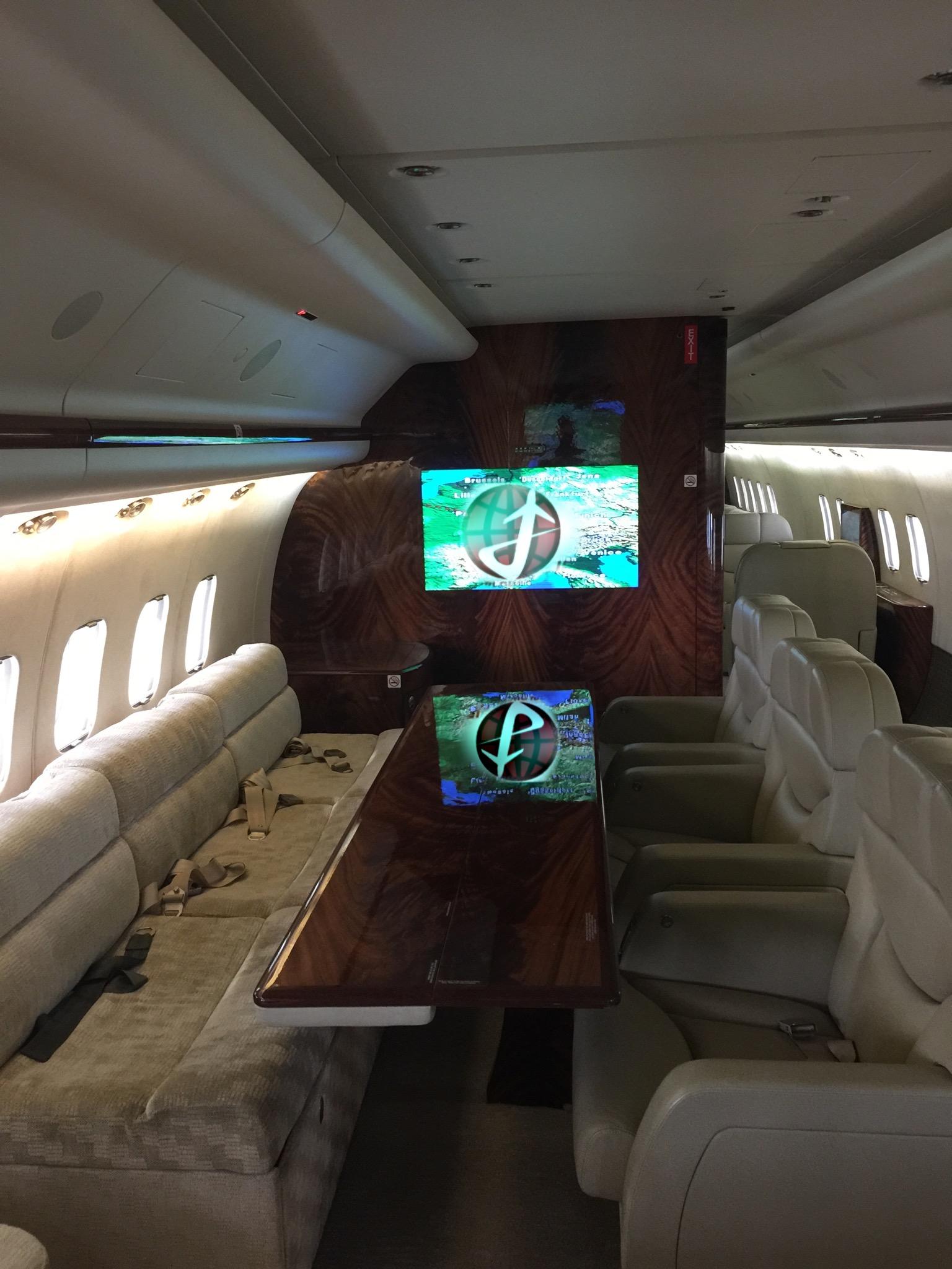 MD-80 VIP Interior