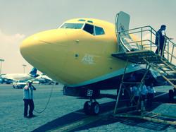 737NG Ferry Flight