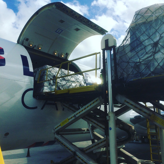 H.L.P. and LATAM partner to deliver 44 metric tonnes of aide to Puerto Rico!