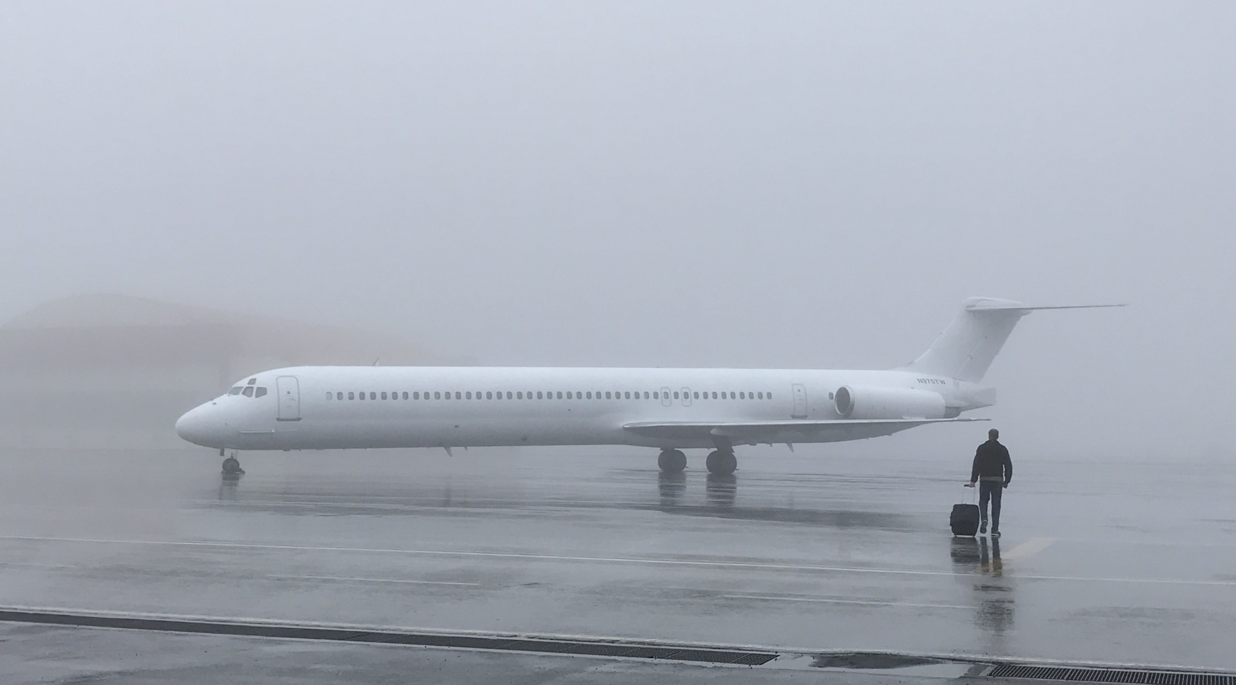 MD-83 Jet Test
