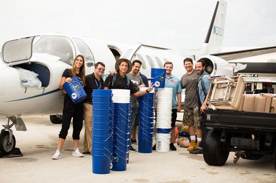H.L.P. delivers 350 water purification systems from 3 to 5, and multiple units of Insulin to Ponce H