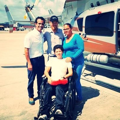 Carole is Fighting Cancer, and HLP had the Honor of Transporting her for Treatment