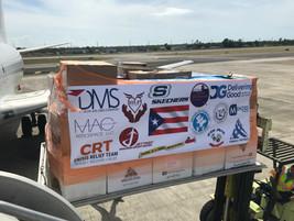 Puerto Rico Relief Flight