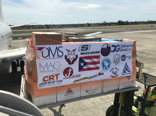 Puerto Rico Relief Flight