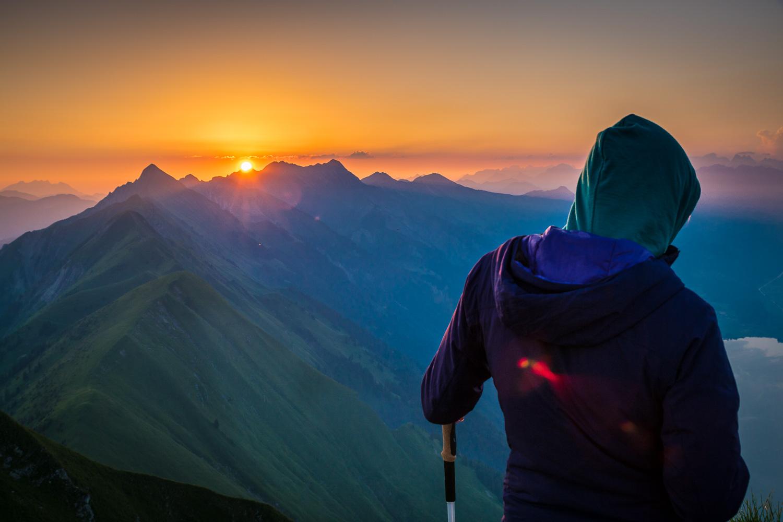 Sunrise Hardergrat