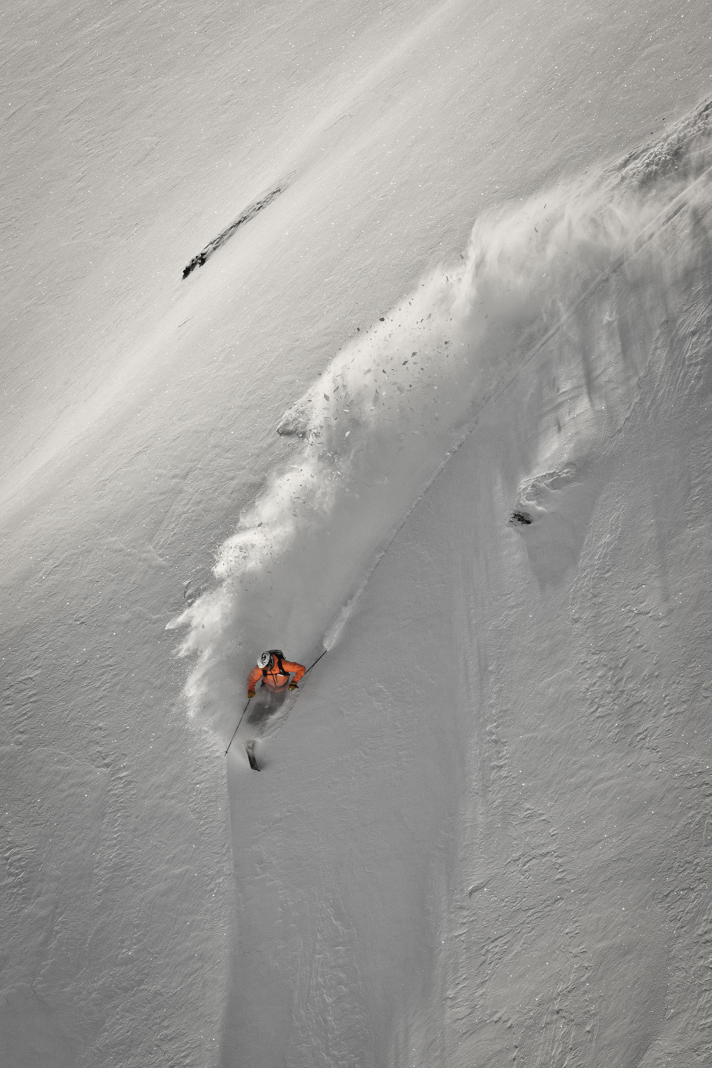 Schilthorn Freerider powder telemark