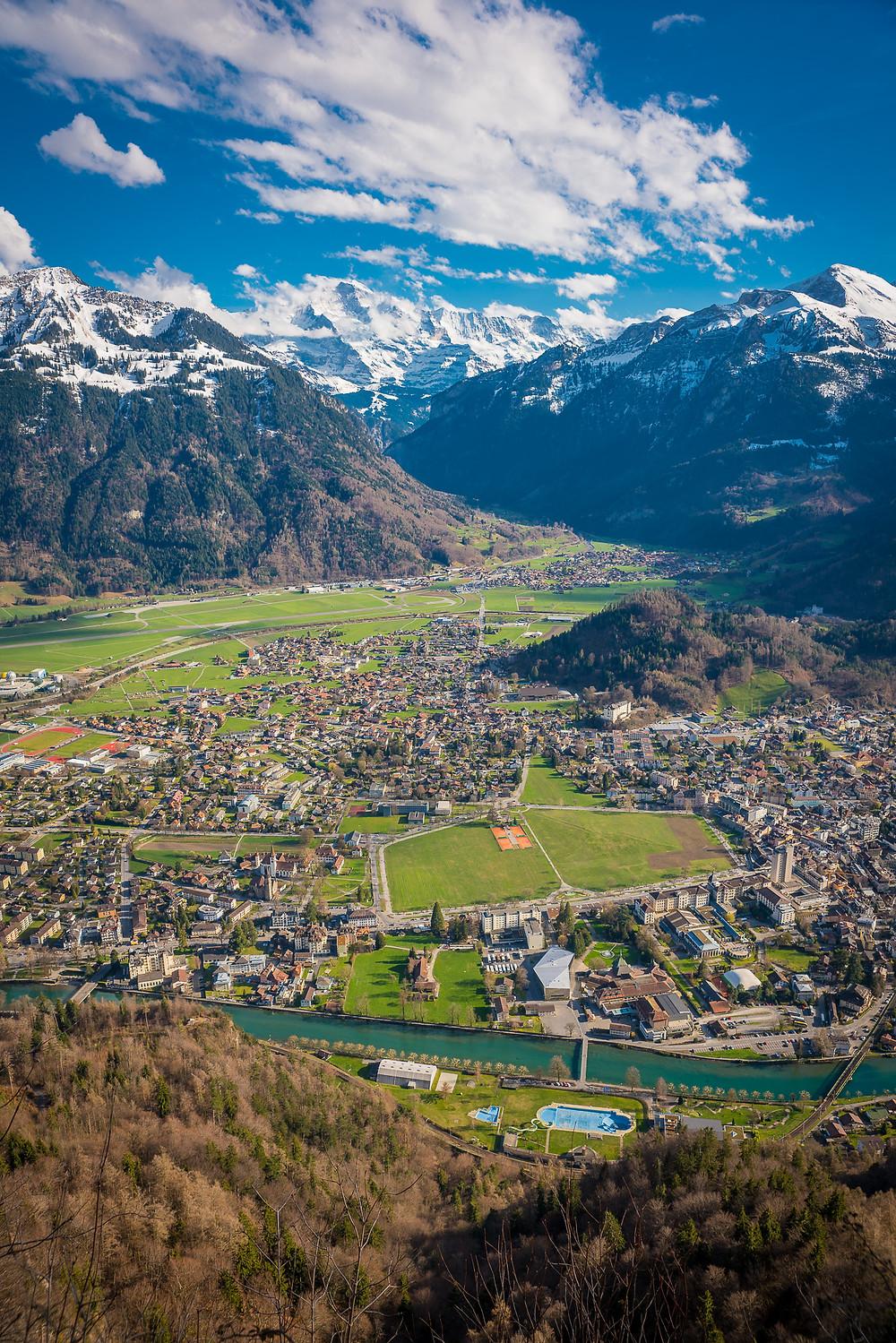 Interlaken Spring Jungfrau Höhematte Interlaken Ost