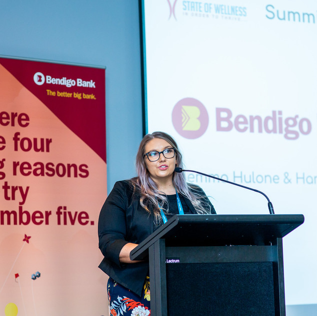 Bendigo Bank Wellness Summit_Oct 2019_by