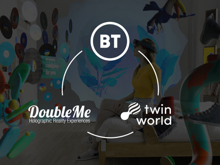 BT Collaborates with DoubleMe for Holoportation in 2021
