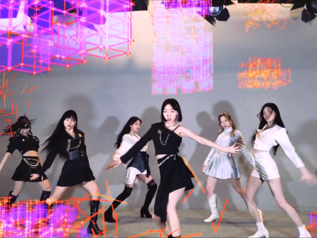 Watch: K-Pop Girl Group Ferry Blue's Explosive MV Debut in the Real-World Metaverse