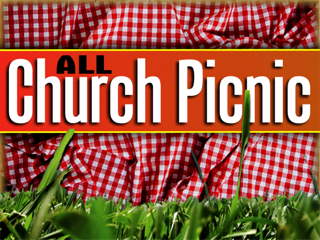 You are Invited to the All Church Picnic on September 12!