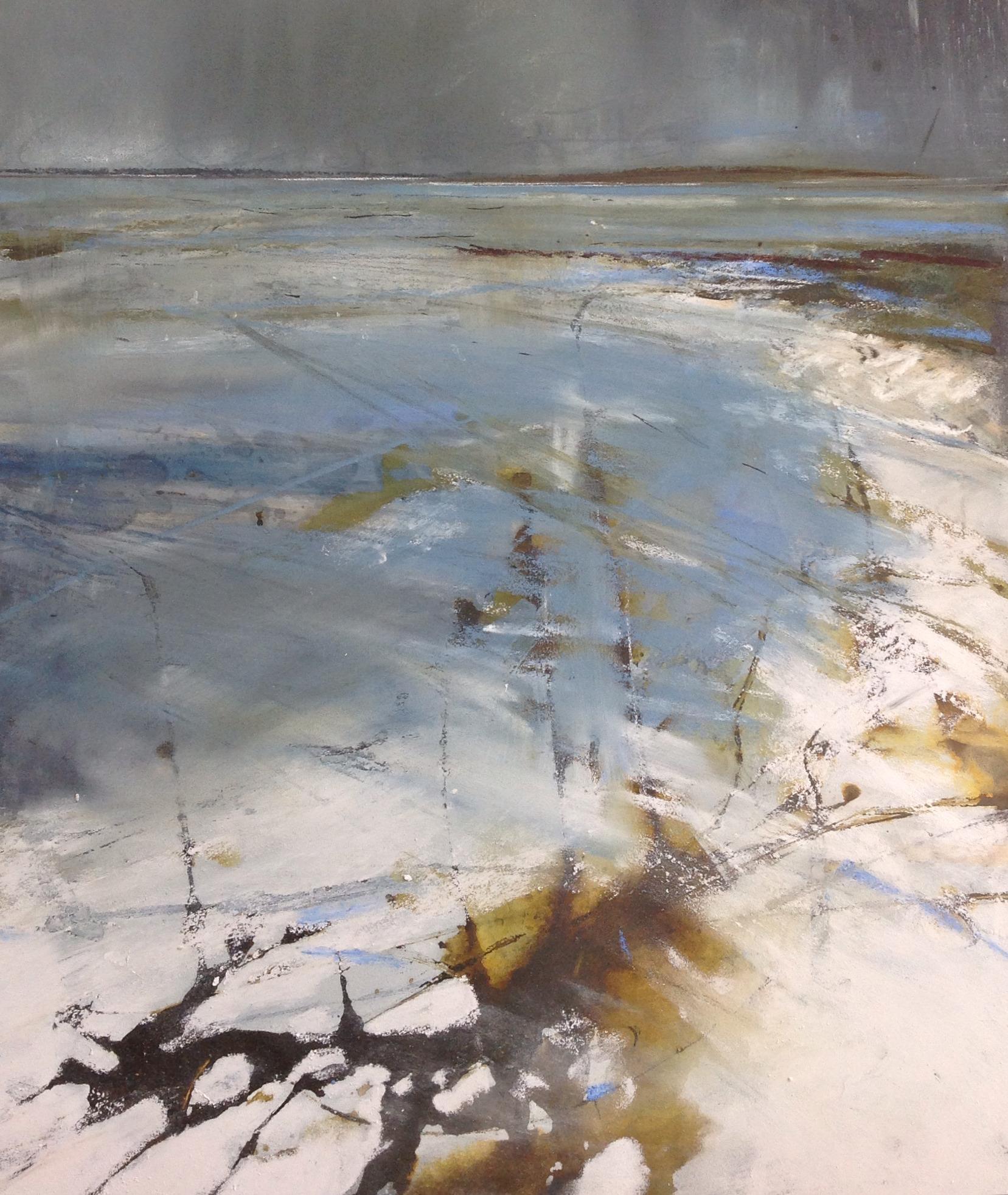 Incoming tide, Luskintyre