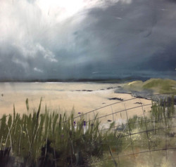 Storm over Temple Sand, Harris