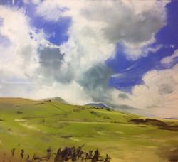 Cumulonimbus over Skiddaw