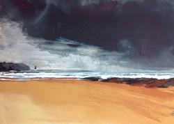 Storm over Sandwood