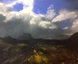 Blue sky after the rain, Marsco