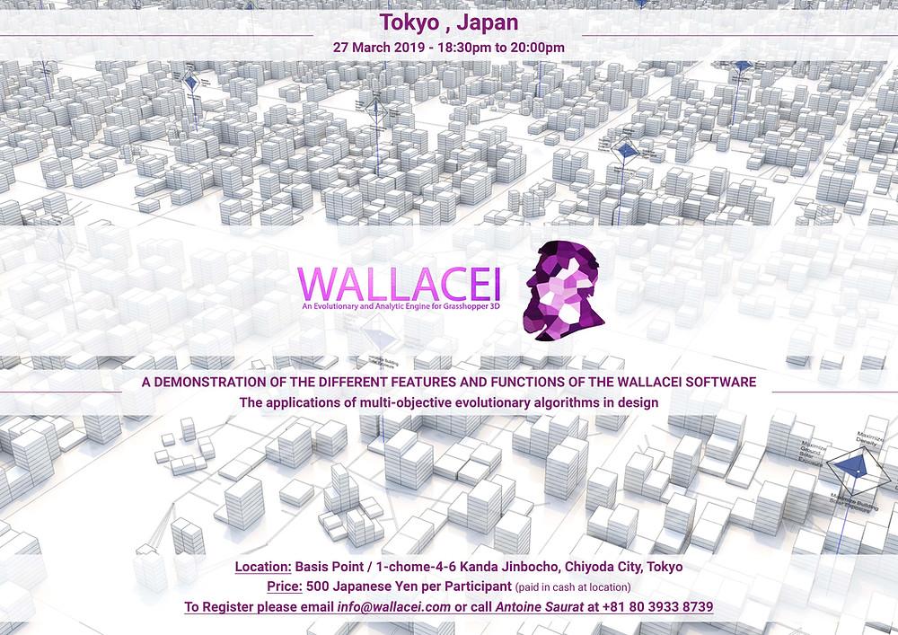 Wallacei demonstration in Tokyo