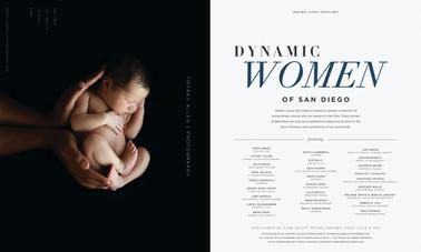 Dynamic Woman of San Diego