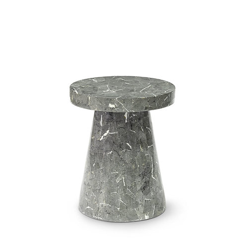 Foley OD Side Table Short Grey